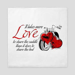 Biker Love Queen Duvet