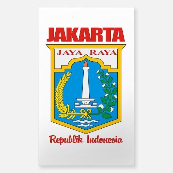"""Jakarta"" Sticker (Rectangle)"