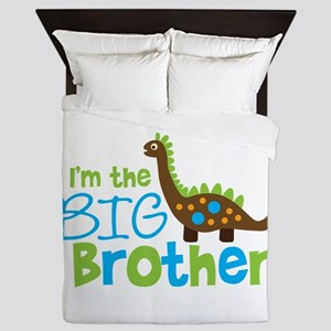 Dinosaur Big Brother Queen Duvet