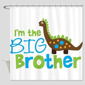 Dinosaur Big Brother Shower Curtain