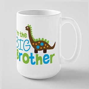 Dinosaur Big Brother Large Mug