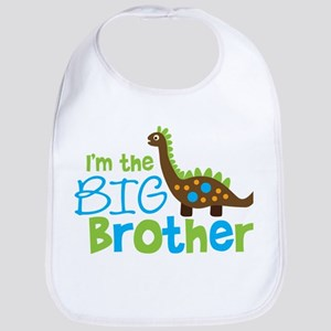 Dinosaur Big Brother Bib