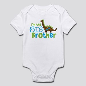 Dinosaur Big Brother Infant Bodysuit