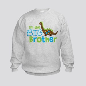 Dinosaur Big Brother Kids Sweatshirt