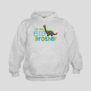 Dinosaur Big Brother Kids Hoodie