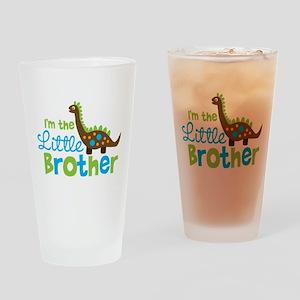 Dinosaur Little Brother Drinking Glass