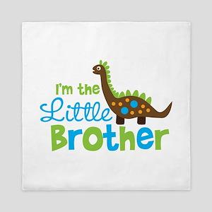Dinosaur Little Brother Queen Duvet