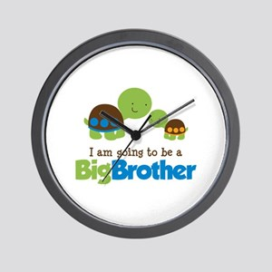 Turtle going to be a Big Brother Wall Clock