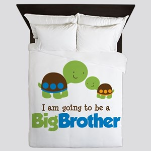 Turtle going to be a Big Brother Queen Duvet