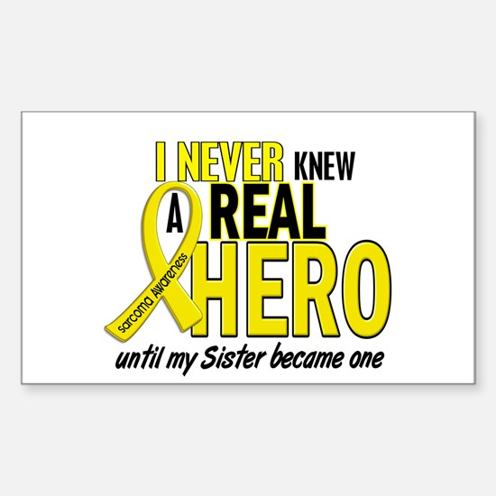Real Hero Sarcoma Sticker (Rectangle)