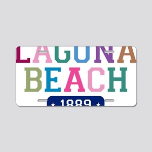 Laguna Beach 1889 Aluminum License Plate