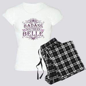 Pink Badass Southern Belle Women's Light Pajamas
