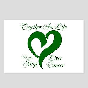 Stop Liver Cancer Postcards (Package of 8)