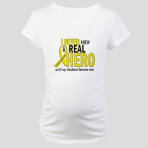Real Hero Sarcoma Maternity T-Shirt