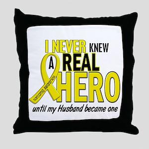 Real Hero Sarcoma Throw Pillow