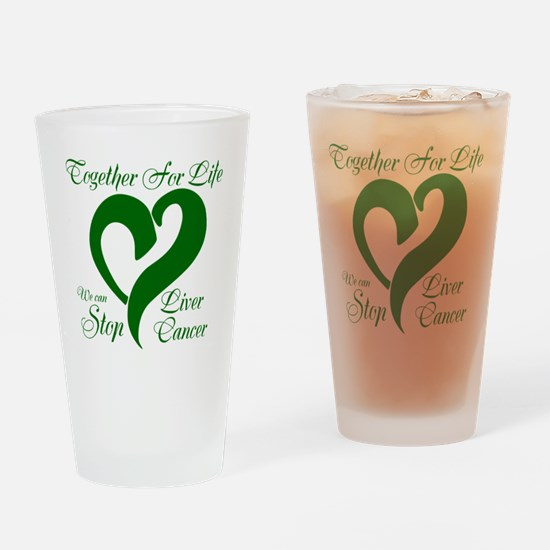 Stop Liver Cancer Drinking Glass