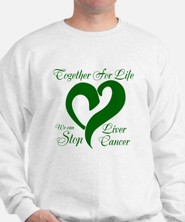 Stop Liver Cancer Sweatshirt