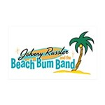 Beach Bum Band - 38.5 x 24.5 Wall Peel