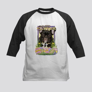 Easter Egg Cookies - Frenchie Kids Baseball Jersey