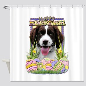 Easter Egg Cookies - Springer Shower Curtain