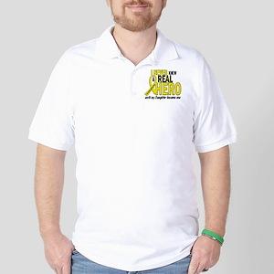 Real Hero Sarcoma Golf Shirt