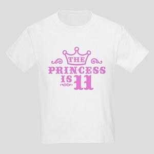 11th Birthday Kids Light T-Shirt