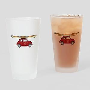 Coastal Kayak Drinking Glass