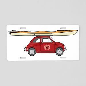Coastal Kayak Aluminum License Plate