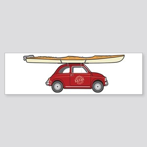 Coastal Kayak Sticker (Bumper)
