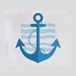 The Sailor Throw Blanket