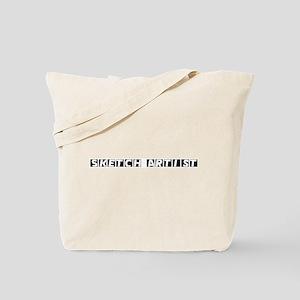 Sketch Artist Tote Bag