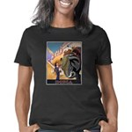India Vintage Travel Adver Women's Classic T-Shirt