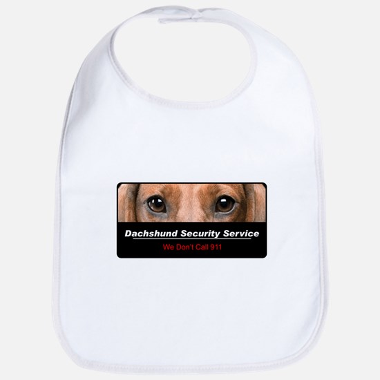 Dachshund Security Service Bib