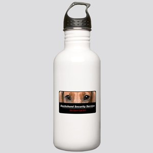 Dachshund Security Service Stainless Water Bottle