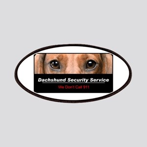 Dachshund Security Service Patches