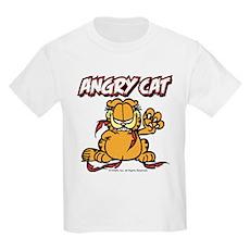 ANGRY CAT Kids Light T-Shirt