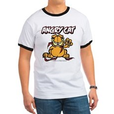 ANGRY CAT Ringer T