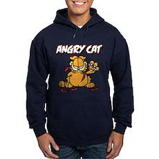 ANGRY CAT Hoodie (dark)