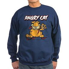 ANGRY CAT Sweatshirt (dark)