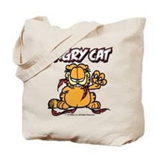 ANGRY CAT Tote Bag