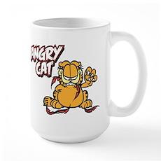 ANGRY CAT Large Mug
