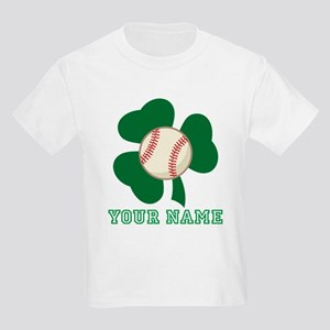 Personalized Irish Baseball Gift Kids Light T-Shir