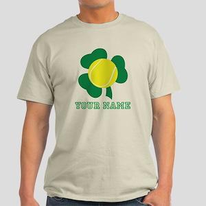 Personalized Irish Tennis Gift Light T-Shirt