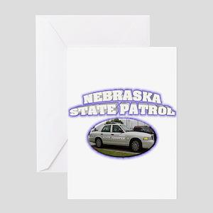 Nebraska State Patrol Greeting Card