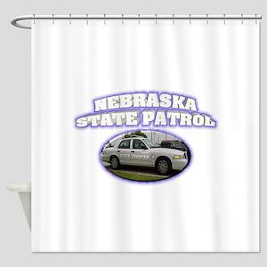 Nebraska State Patrol Shower Curtain