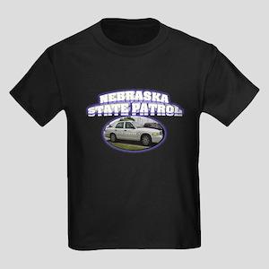 Nebraska State Patrol Kids Dark T-Shirt