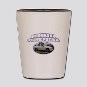 Nebraska State Patrol Shot Glass