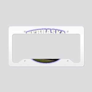 Nebraska State Patrol License Plate Holder