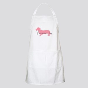 Diamonds Dachshund Diva Apron