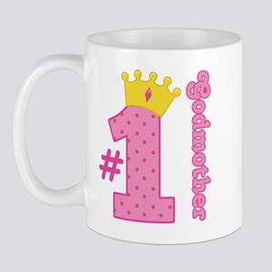 Number One Godmother Gift Mug